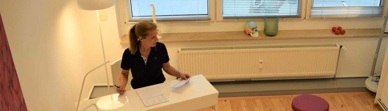 Vorbereitung auf osteopathische Behandlung